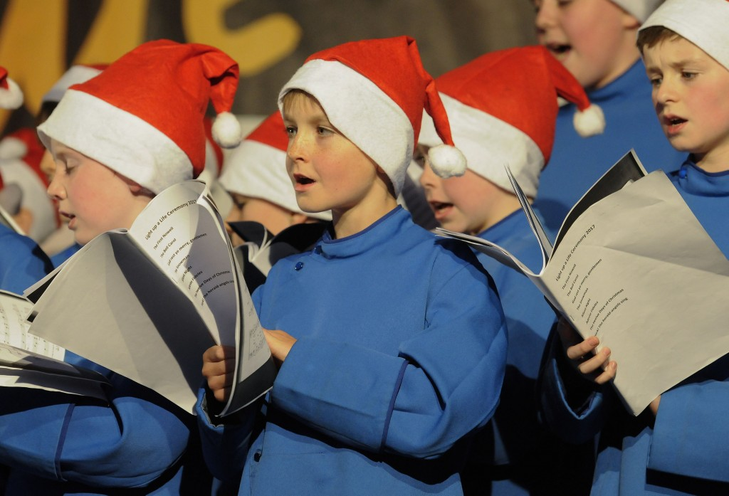 NO REPRO FEE / Press Use Thousands Gather for Light Up A Life, 25th Anniversary Celebrations Pictured: Palestrina Boys Choir Photographer: Dave Meehan/1IMAGE Today (Sunday 26 November) over 10,000 people gathered at Our Lady's Hospice & Care Services in Harold's Cross to join in the 25th anniversary of Light Up A Life, its annual remembrance celebration. This year Daniel OÕDonnell was the special guest who turned the lights on the tree and entertained the crowds at this popular event, which marks the start of Christmas for many regular attendees. Christmas has always been a time to remember loved ones and in 2016, over 35,000 people were remembered through lights sponsored in their names. These can be shared online with friends and family and sponsors are able to upload photos and personal tributes. This is the most important fundraiser for the organisation and raised over Û454,000 last year to enable the provision of loving care for which it is known. Entertainment at the event included the Line-up choir, St. Judes Choir, the CIE Male Voice Choir and the Palestrina Boys Choir. The event was generously sponsored by Friends First and supported by Clancy Construction. Lights, Christmas Cards, vouchers, a calendar and a cookbook can be purchased right up until Christmas either from the Hospice (HaroldÕs Cross or Blackrock) or at www.lightupalife.ie Media contact: Carina OÕNeill, Communications Manager: 087 4146363 1IMAGE PHOTOGRAPHY Studio: +353 1 493 9947 / Mob: +353 87 246 9221