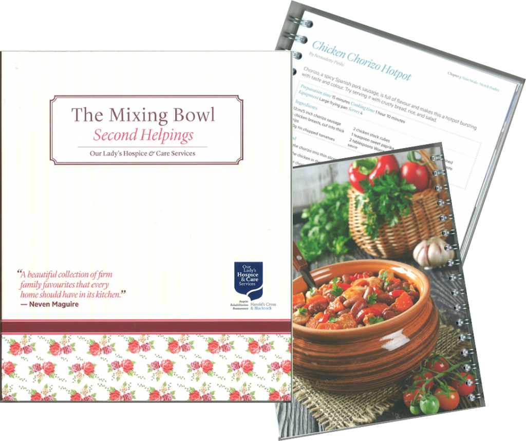 Mixing Bowl page collage