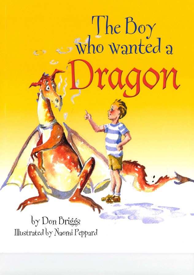 The Boy who wanted a Dragon cover
