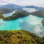 National park island Mljet, oldest pine forest in Europe
