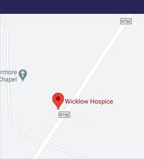 Map showing Wicklow Hospice, click to enlarge